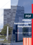 Monitor Kantorenmarkt Haaglanden