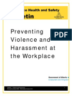 WHS-PUB-VAH001 Alberta Workplace Violence Guide