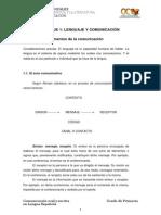 Bloque i. Tema 1. Elementos de Comunicacion
