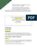 Ejemplo y Estructura Del Ensayo