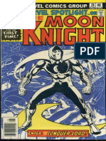 Marvel Spotlight 28 Vol 1 Moon Knight