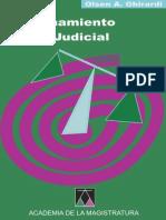 Al Razonamiento Judicial