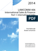 Casebook Vol 1 International Sales