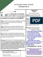 newsletter 3 16 15
