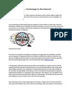 Digital Age Social Media Posting