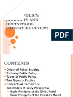 Public Policy Literature Review.ppt