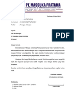 Surat Instruksi TBL 2014 00