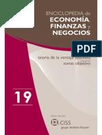 Enciclopedia de Economía y Negocios Vol. 19-1
