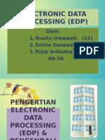 Teknik Audit Electronic Data Processing (Edp)