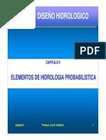 Capitulo 2-1 - Elementos de Hidrología Probabilística [Modo de Compatibilidad]