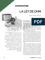 La_ley de OHM