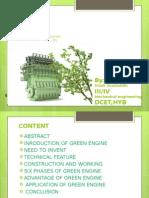Green Engine Ppt 2