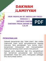 DAKWAH ISLAMIYYAH