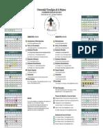 Calendario Escolar UTM 2013-2014