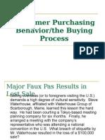 Customer Purchasing Behavior