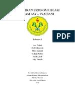 Pemikiran Ekonomi Islam Imam Asy Syaibani
