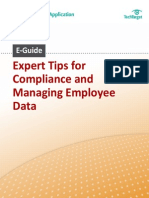 TipsForCompliance and EmployeeData