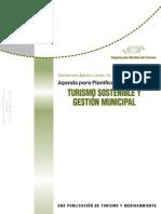 4_OMT - Agenda Para Planificadores Locales - Turismo Sostenible y Gestion Municipal