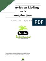 Moelakhas Al-fiqhie Serie - Boek de Reiniging - Hoofdstuk Het Servies en Kleding Van de Ongelovigen
