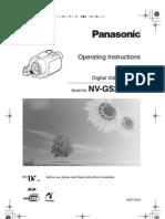 Camera PANASONIC Manual