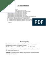 Inorganic Chemistry Lab Manual