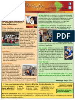 Jan- Feb 2015 Newsletter From The Pates