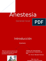 Anestesia Parte 1