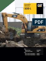 Excavadora Hidráulica 323D L