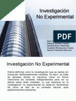 Investigacion No Experimental e5