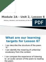 bud-unit 2, lesson 6
