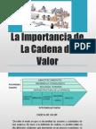 La Importancia de La Cadena de Valor