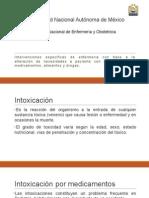 Intervenciones de Enfermería INTOXICACION