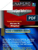 Structural Steel Bolted Joints by Megdad -NAPIS
