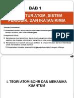 Bab 1 Struktur Atom, Sistem Periodik, Dan Ikatan Kimia