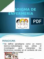 Paradigmas de Enfermeria