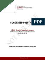 Financial Reporting Framework
