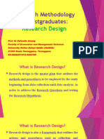 1 the Methodology - Research Design