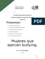 Bullying entre mujeres