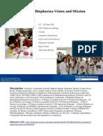 Progenika Biopharma Vision and Mission