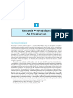 Research Methodology - Methods and Techniques 2004