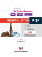 2500 MCQ for IESPSUs_General Studies