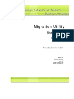 Adeptia Migration Utility User Guide