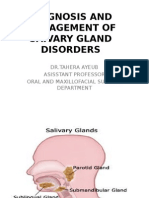 Salivary Glands Didease 2012 Final Yr Lecture