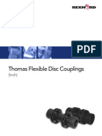 Inches Thomas Flexible Disc Couplings