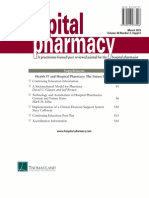 Hospital Pharmacy Supplement March 172015