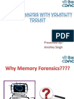 Memory Forensics analysis
