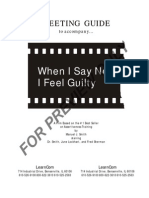When I Say No I Feel Guilty Pdf