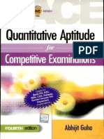 Quantitive Aptitude by Abhijit Guha