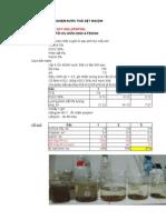 Fentol for Textile Testing Result