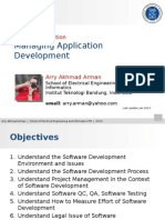 Course Introduction - Managing Software Development